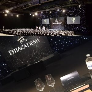 PhiAcademy stage